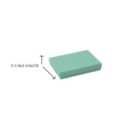 Divine Jewelry Boxes-#53 - 5-1/4 x 3-3/4 x 7/8 - Pack 100-Divine Aqua