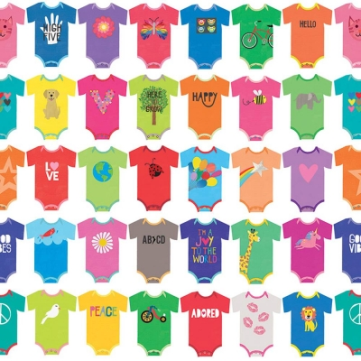 Baby Rompers Gift Wrap 30 x 833