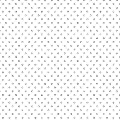 Silver Dots on White Gift Wrap 30 x 833