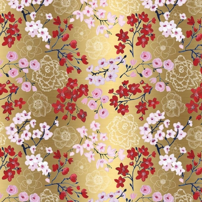 Drifting Blossoms Gift Wrap 30 x 833