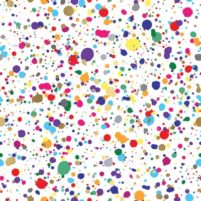 Splatter Gift Wrap 30 x 833