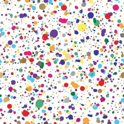 Splatter Gift Wrap 30 x 417