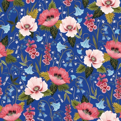 Blooming Gift Wrap 30 x 833