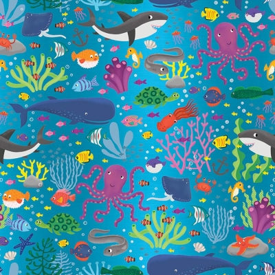 Under the Sea Gift Wrap 30 x 833