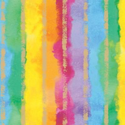 Rainbow Stripe Gift Wrap 36 x 417