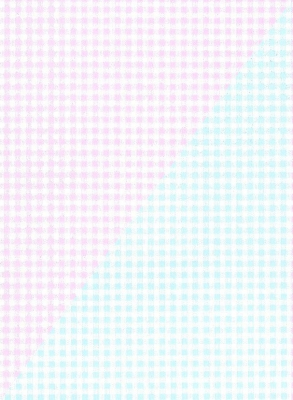 """Pink and Blue Gingham Gift Wrap 30"""" x 417'"""