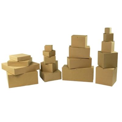 Kraft Stripe Gift Boxes