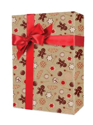 Christmas Cookies Gift Wrap 24 x 833