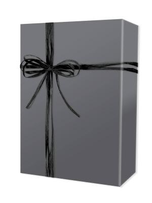 Grey Matte Gift Wrap 24 x 833