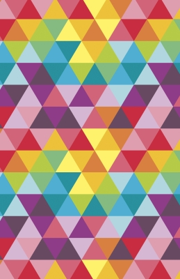 """Bright Triangle Super Gloss Gift Wrap 30"""" x 833'"""