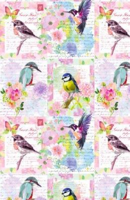 """Song Birds 24"""" x 833'"""