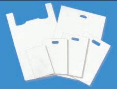 Hi-Density White Bargain Plastic Bags