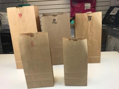 16# Kraft Bags - Pack 1000