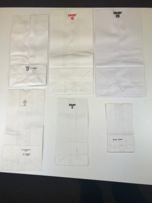 2# White Bags - Pack 1000