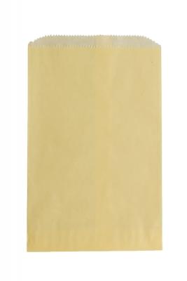 Color Paper Merchandise Bags-6-1/4 x 9-1/4 - Pack 1000-Cream