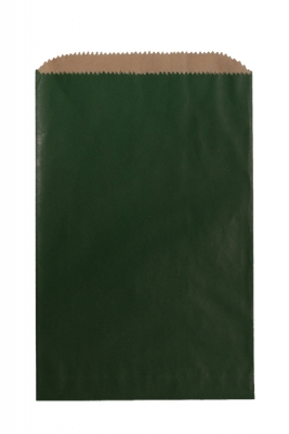 Color Paper Merchandise Bags-6-1/4 x 9-1/4 - Pack 1000-Forest Green