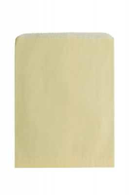 Color Paper Merchandise Bags-8-1/2 x 11 - Pack 1000-Cream