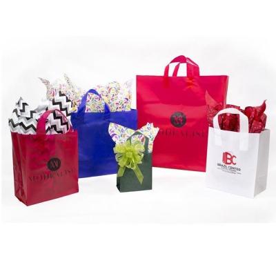 Opaque Frosty Plastic Merchandise Bags