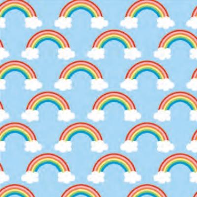 "Over the Rainbow Gift Wrap 30"" x 417'"