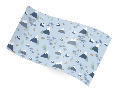Printed Tissue - Alpine Holiday RC1229