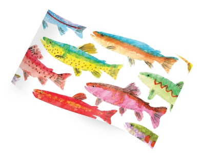 Printed Tissue - Rainbow Trout RC1230