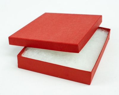 Jewelry Boxes-Brick Red-#65 - 6 x 5 x 1 - Pack 50