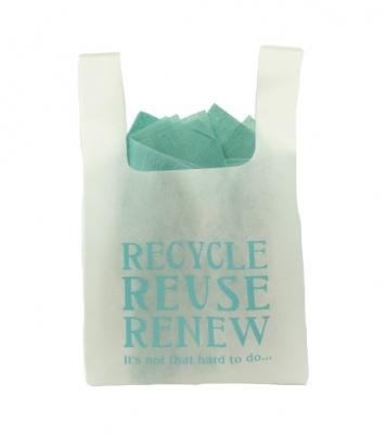 Recycle, Reuse, Renew non-woven bag