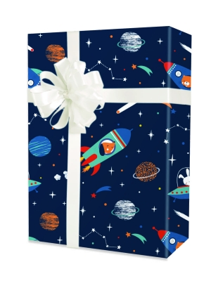 To The Moon Gift Wrap 24 x 417