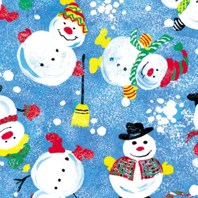 Frosty Friends Gift Wrap 36 x 417