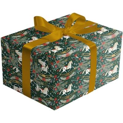 Rocking Horse Noel Gift Wrap 30 x 833