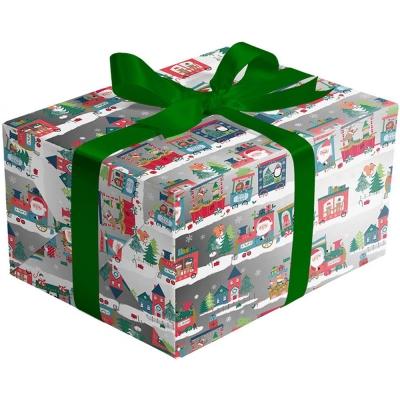 Christmas Train Gift Wrap 30 x 833