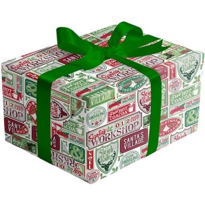 Santa Signs Gift Wrap 30 x 833