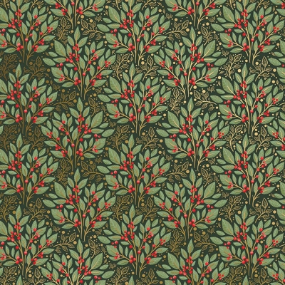 """Holly Tapestry Tissue Paper 20"""" x 30"""""""