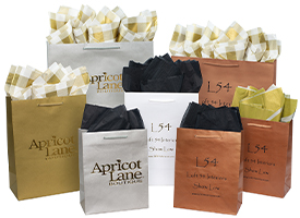 aubrey paper shopping bags