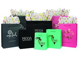 fashion tint shoppihng bags
