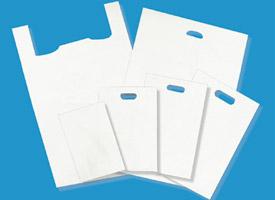 white hi-density bags