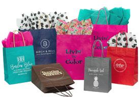 jcut color shopping bags