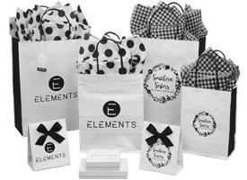 jcut white shopping bags