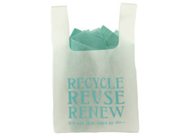 Recycle, Reuse, Renew Non-Woven Bags
