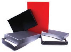 gloss color apparel boxes