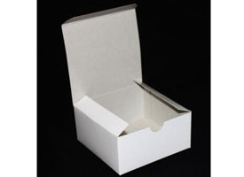 white gloss gift boxes