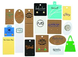 custom printed earring cards