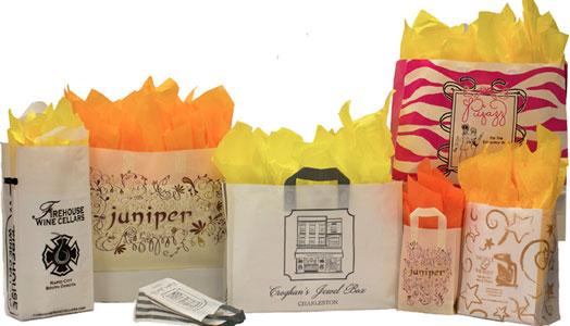 completely custom plastic shopping bags