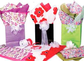 Designer Print Tissue Paper